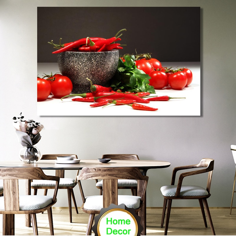 Posters And Prints Wall Art Canvas, Dining Room Wall Decor Canvas